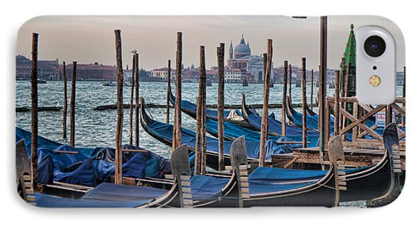 IPhone Case featuring the photograph Gondola Landing by Kim Wilson