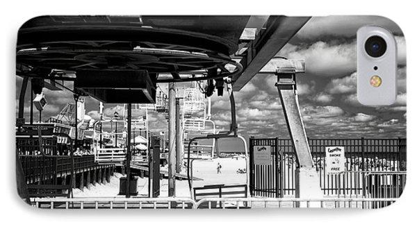 Gondola View Mono IPhone Case by John Rizzuto