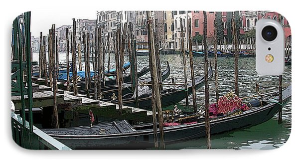 Gondolas IPhone Case