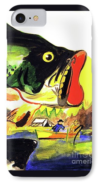Gone Fishing IPhone Case by Linda Simon