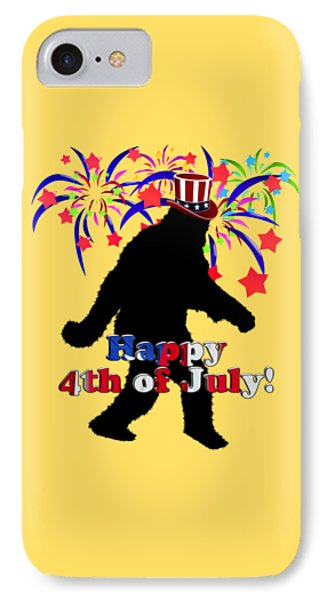 Gone Squatchin - 4th Of July IPhone Case