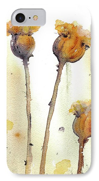 IPhone Case featuring the painting Gone To Seed by Dawn Derman