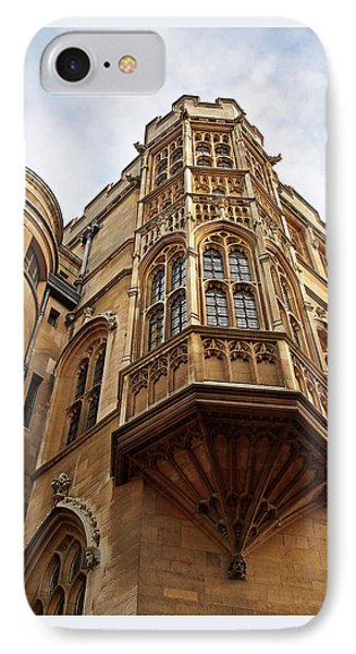IPhone Case featuring the photograph Gonville And Caius College Library Cambridge by Gill Billington
