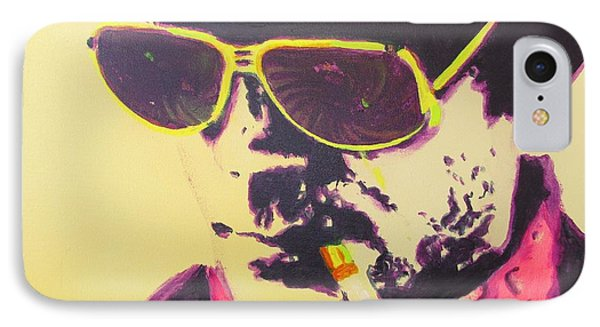 Gonzo - Hunter S. Thompson IPhone Case by Eric Dee