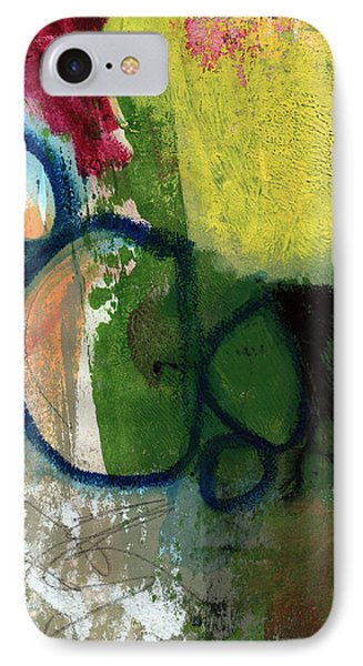 Good Day-abstract Painting By Linda Woods IPhone Case by Linda Woods