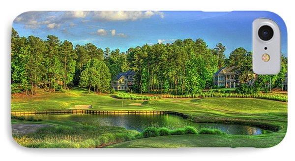Good Golf The Landing Reynolds Plantation Golf Art IPhone Case by Reid Callaway