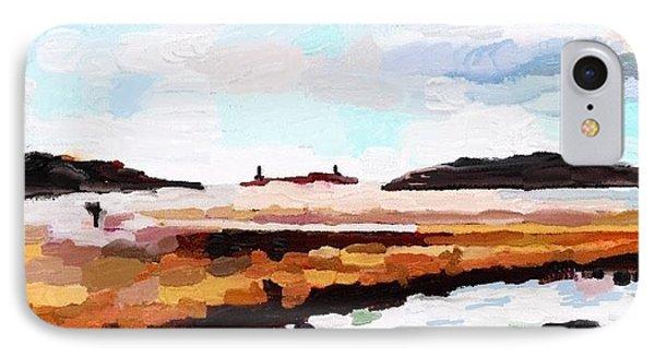 Good Harbor Beach, Salt Island, And Thatcher's Island IPhone Case