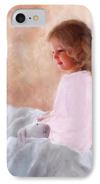 Good Morning Bunnie IPhone Case by Colleen Taylor