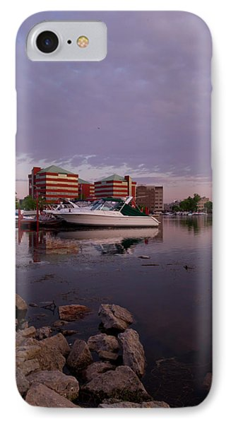 IPhone Case featuring the photograph Good Morning Harbor by Joel Witmeyer