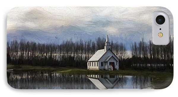 Good Morning - Hope Valley Art IPhone Case by Jordan Blackstone