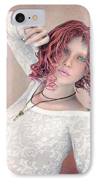 IPhone Case featuring the digital art Good Morning by Jutta Maria Pusl