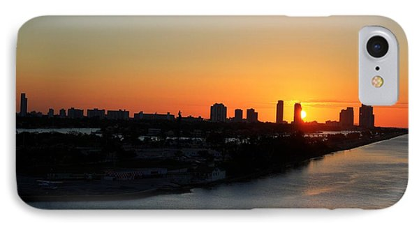 Good Morning Miami Phone Case by Shelley Neff