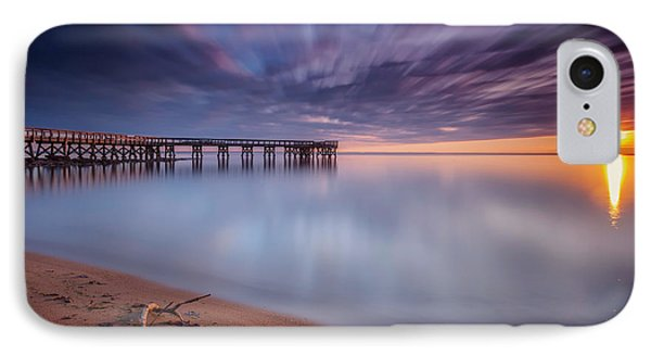 IPhone Case featuring the photograph good morning Mr. Sun   by Edward Kreis