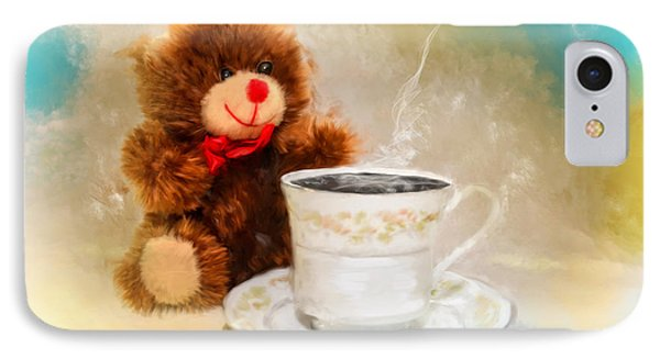 Good Morning Teddy IPhone Case