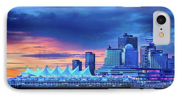 IPhone Case featuring the photograph Good Morning Vancouver by John Poon