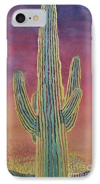 Good Night Cactus Wren IPhone Case