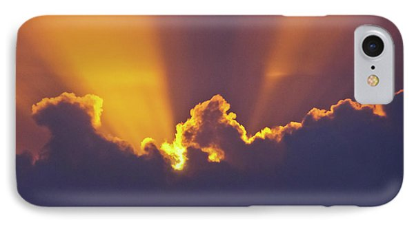 IPhone Case featuring the photograph Good Night Sunshine by Terri Waters
