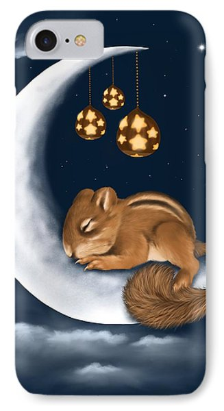 IPhone Case featuring the painting Good Night by Veronica Minozzi