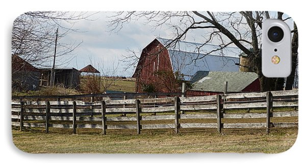 IPhone Case featuring the photograph Good Old Barn by Donald C Morgan