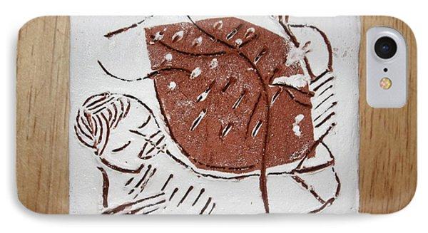 Good Shepherd - Tile Phone Case by Gloria Ssali