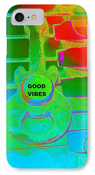 Good Vibes By Jasna Gopic IPhone Case by Jasna Gopic