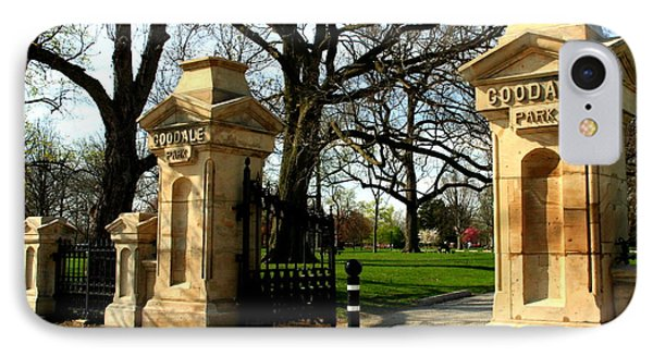 Goodale Park Gateway IPhone Case