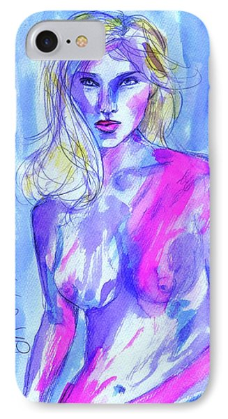 IPhone Case featuring the painting Goodbye Girls by P J Lewis