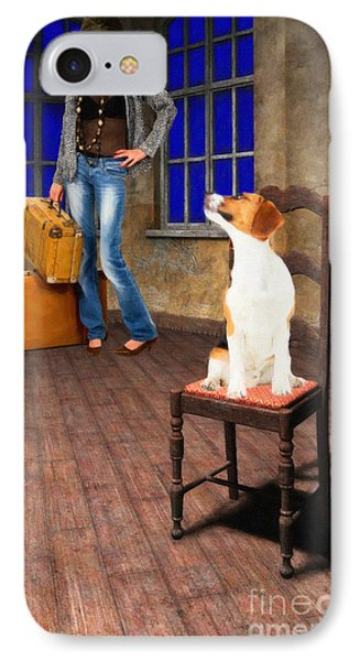 Goodbyes Aren't Easy IPhone Case by Liane Wright