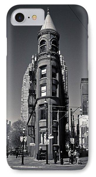 Gooderham Flatiron Building Toronto Canada IPhone Case by Brian Carson