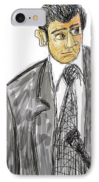Goodfellas. Henry Hill In Court.  IPhone Case by Richard VanSciver