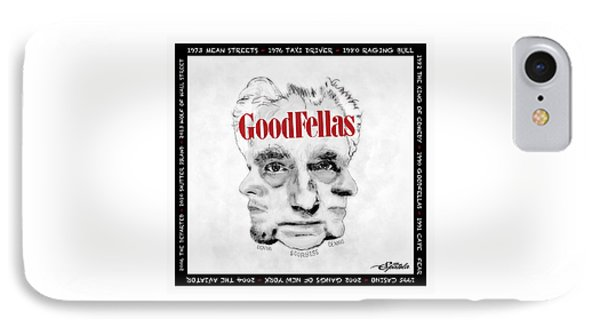 Goodfellas  IPhone Case by Michael Spatola