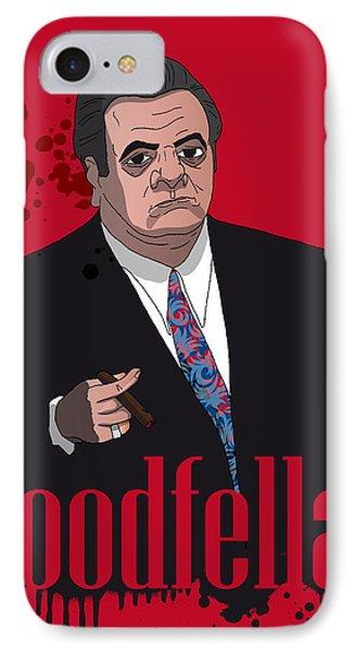 Goodfellas - Paul IPhone Case by Ralf Wandschneider