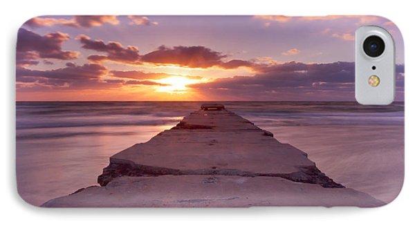Goodnight Sun Phone Case by Nicholas Evans