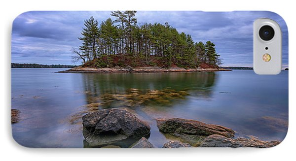 Googins Island IPhone Case by Rick Berk
