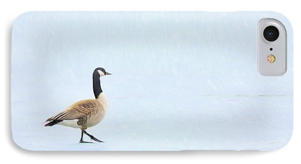 IPhone Case featuring the photograph Goose Step by Nikolyn McDonald