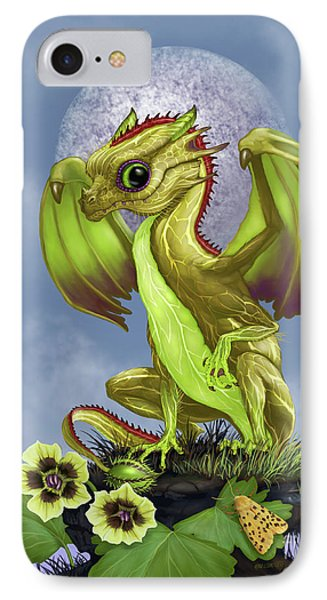 IPhone Case featuring the digital art Gooseberry Dragon by Stanley Morrison