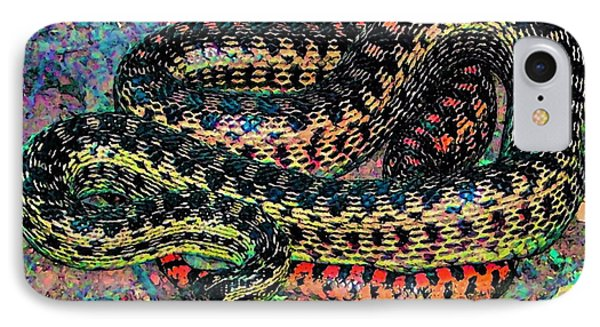 IPhone Case featuring the photograph Gopher Snake by Pamela Cooper