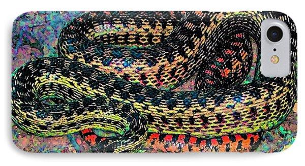 Gopher Snake IPhone Case by Pamela Cooper
