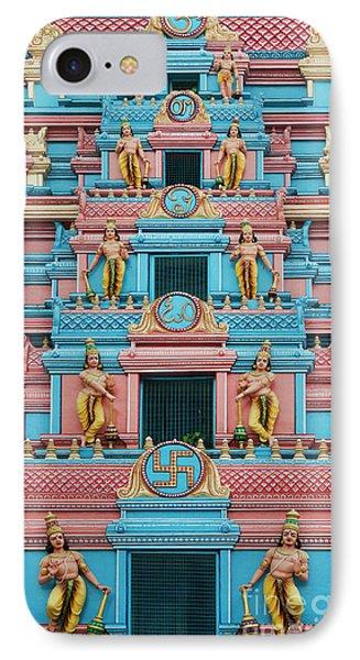 Gopuram IPhone Case by Tim Gainey
