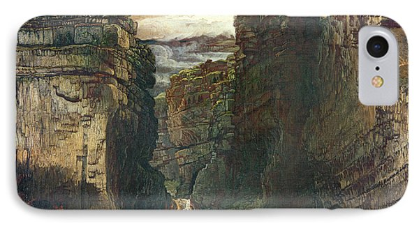 Gordale Scar IPhone Case by James Ward