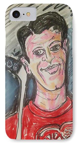 Gordie Howe 600 Goals IPhone Case by Geraldine Myszenski