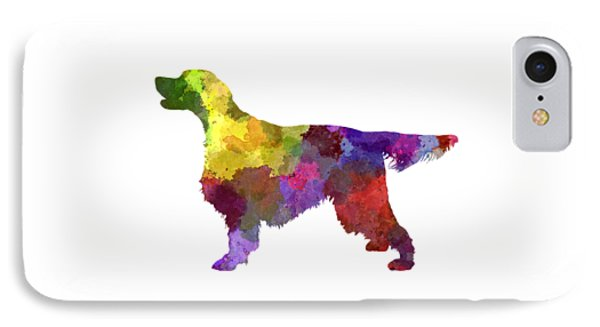 Gordon Setter In Watercolor IPhone Case by Pablo Romero
