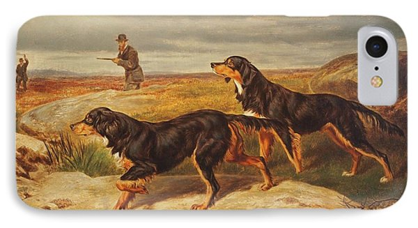 Gordon Setters Upon The Moors IPhone Case