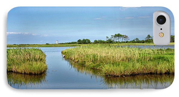 IPhone Case featuring the photograph Gordons Pond - Cape Henlopen Park - Delaware by Brendan Reals