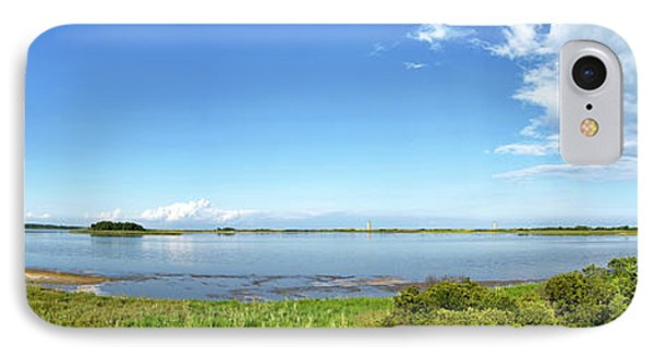 Gordons Pond Panorama - Cape Henlopen State Park - Delaware IPhone Case by Brendan Reals
