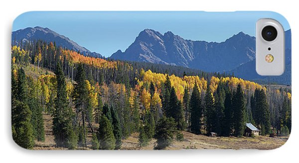 IPhone 7 Case featuring the photograph Gore Autumn by Aaron Spong