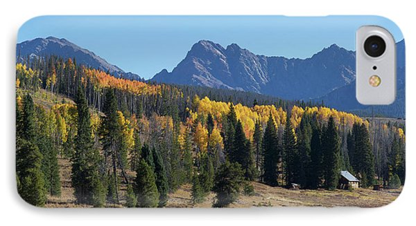 IPhone Case featuring the photograph Gore Autumn by Aaron Spong