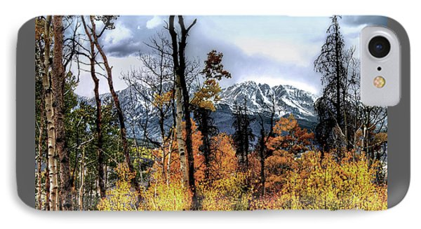 IPhone Case featuring the photograph Gore Range by Jim Hill