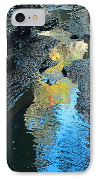 Gorge Abstract IPhone Case by Jessica Jenney