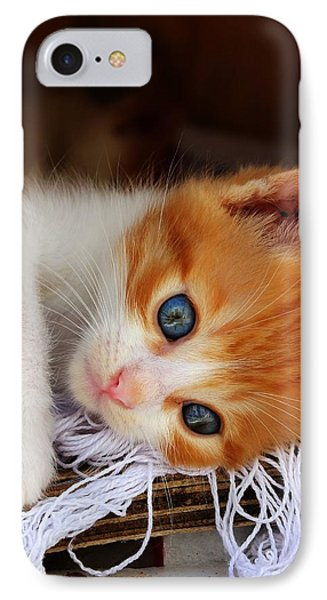 Gorgeous Blue Eyes IPhone Case